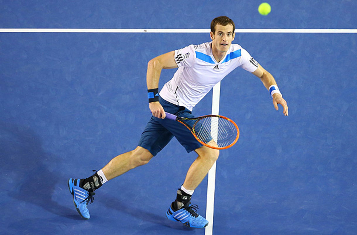 Andy Murray and the British Davis Cup team takes on the U.S. in a first-round tie Friday. (Quinn Rooney/Getty Images)