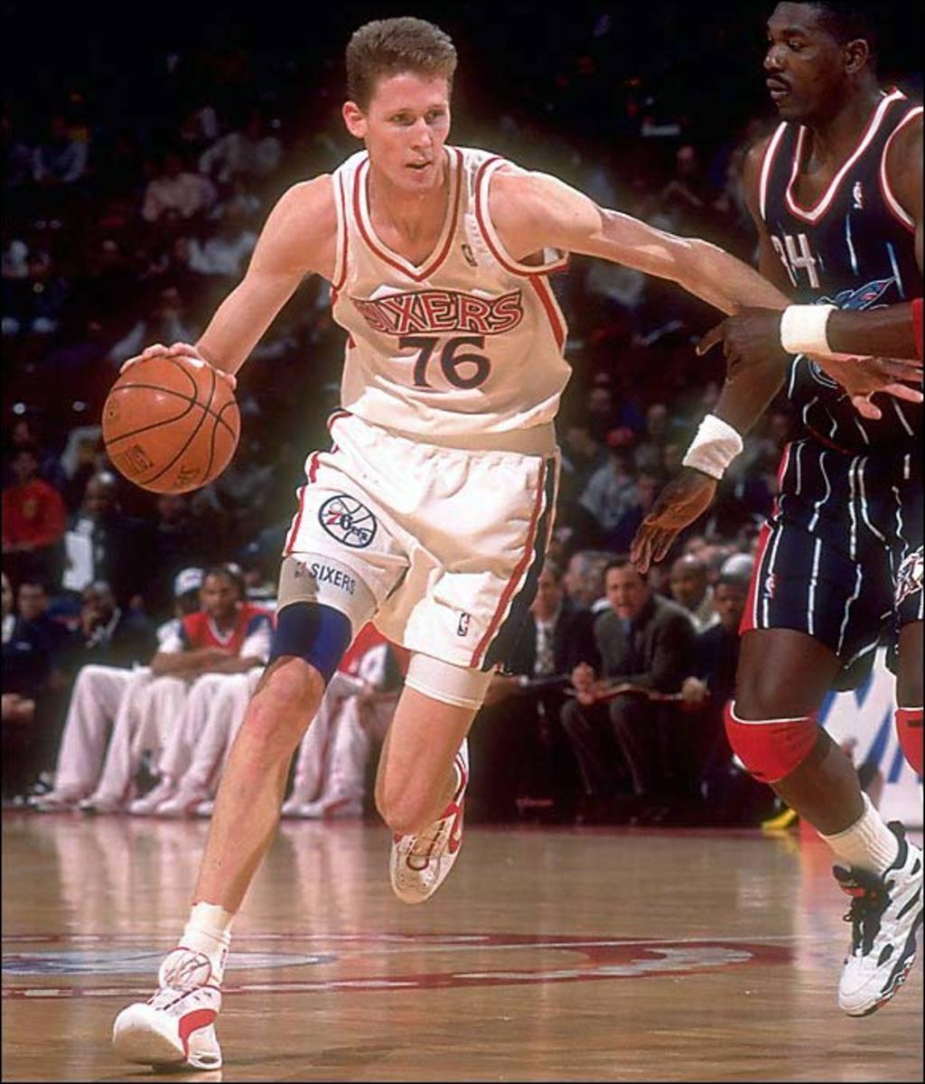 Shawn Bradley, 76ers