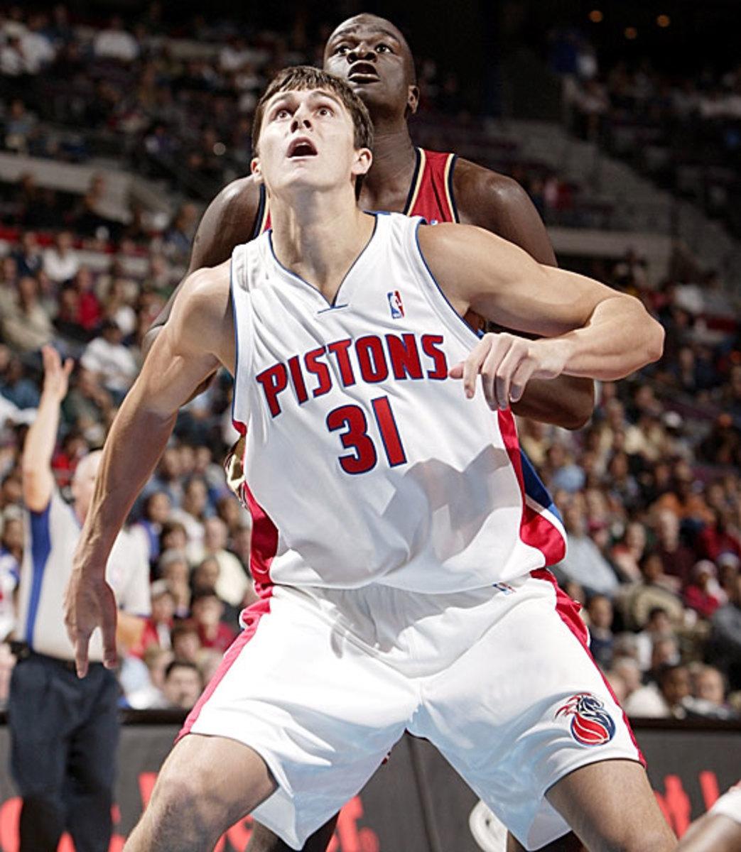 Darko Milicic, Pistons