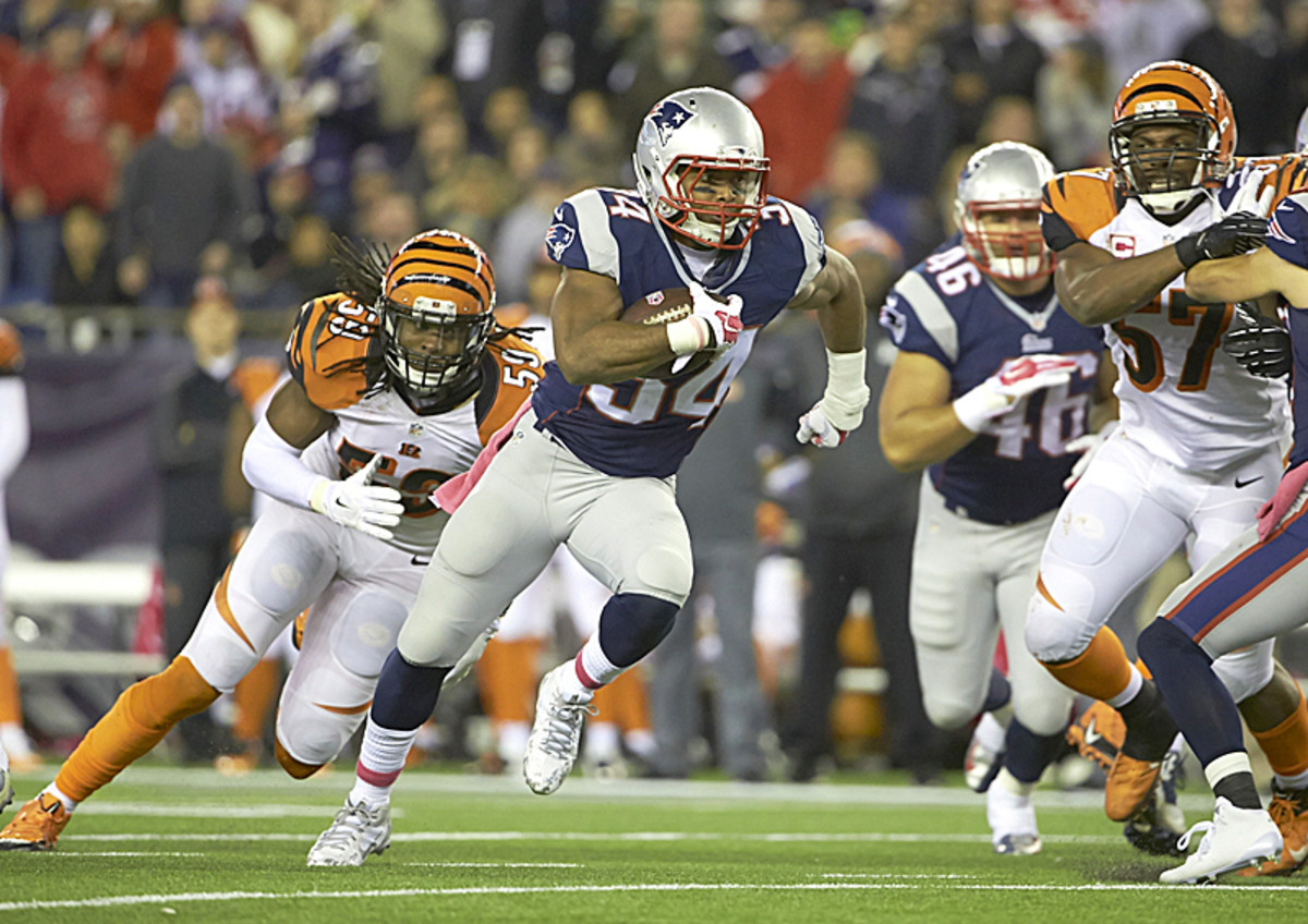 Will Sunday belong to Shane Vereen? (Winslow Townson/SI/The MMQB)