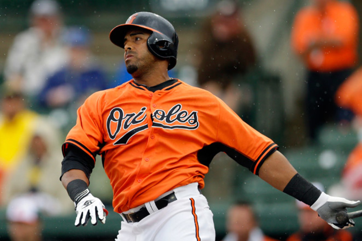 Nelson Cruz left Thursday night's game against Tampa Bay in the fourth inning after he was hit in the helmet by a pitch from Alex Cobb.