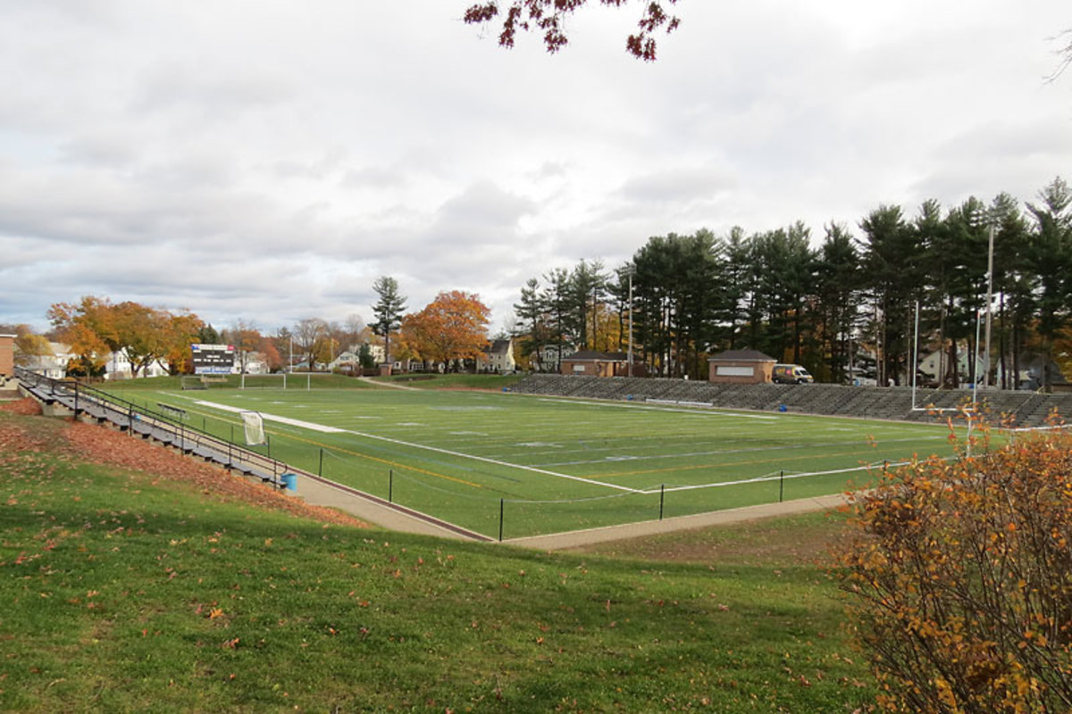 Doyle Field in Leominster, site of this years Thanksgiving game, will be rocking on Thursday morning.(Courtesy Andy Van Hazinga)