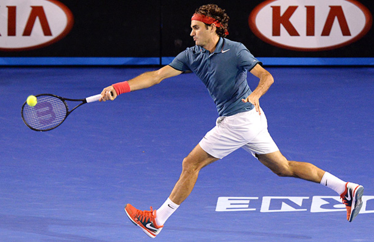Roger Federer can usually be considered the underdog when playing Rafael Nadal. (MAL FAIRCLOUGH/AFP/Getty Images)
