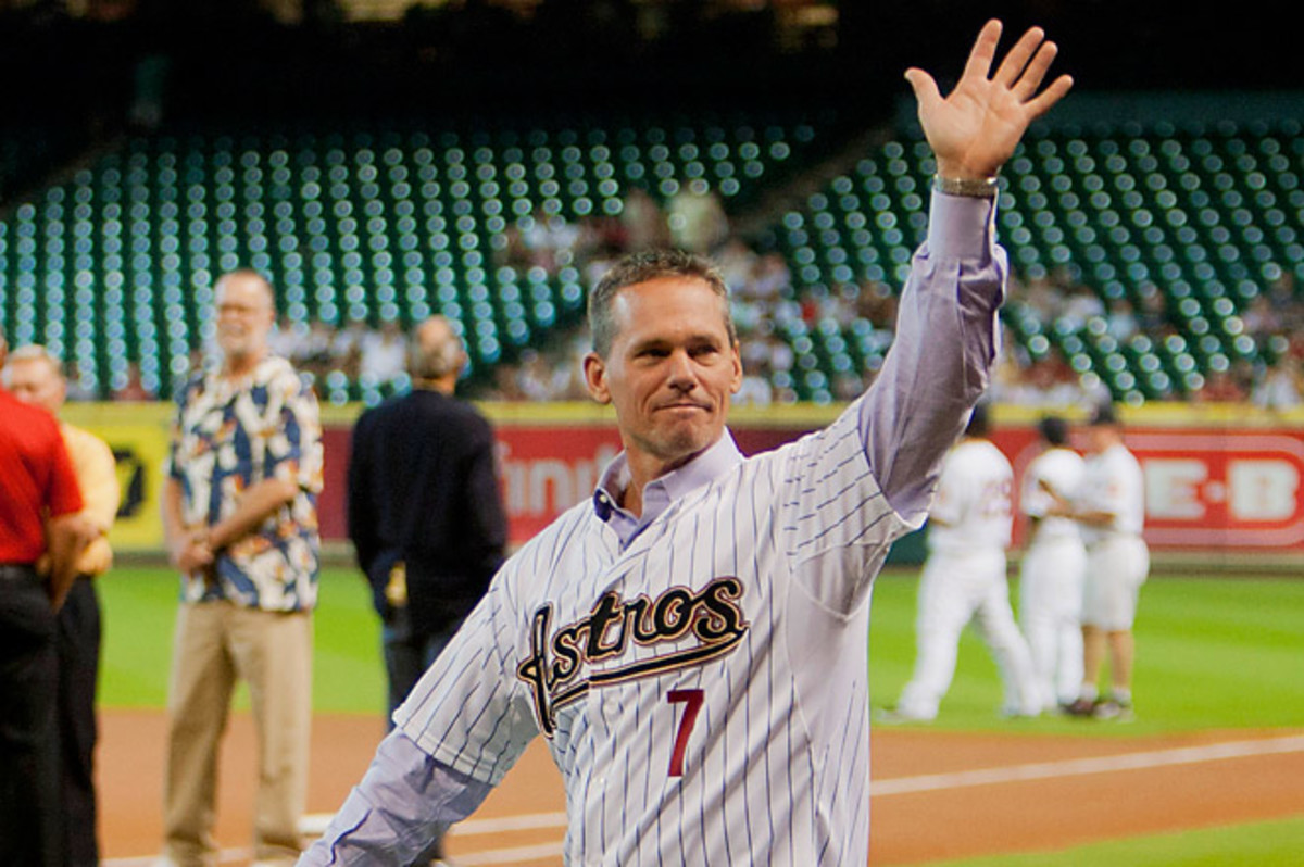 Biggio was selected on 74.8 percent of ballots with a total of 427 votes - two shy of the 75 percent required to make it into the Hall.