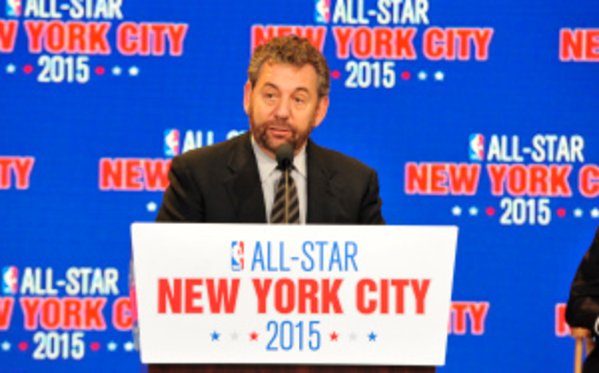 The Knicks, who will see the All-Star game hosted in New York City in 2015, haven't been to the Conference Finals in nearly 15 years. (David Dow/Getty Images)