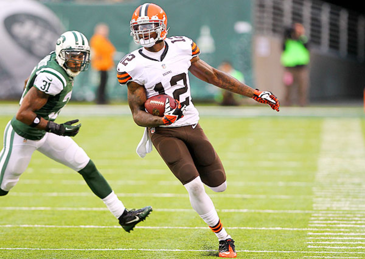 Browns wide receiver Josh Gordon thinks the team will take a quarterback in the first round of the NFL draft