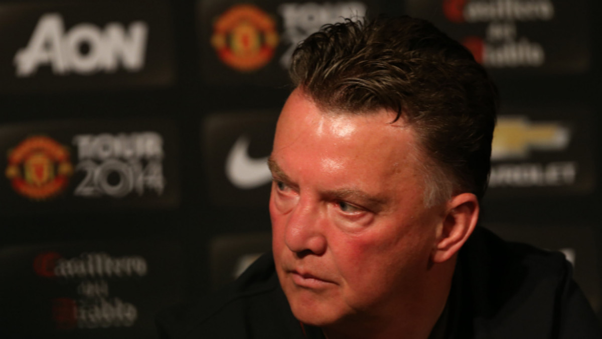 Manchester United Manager Louis Van Gaal: One Point Not