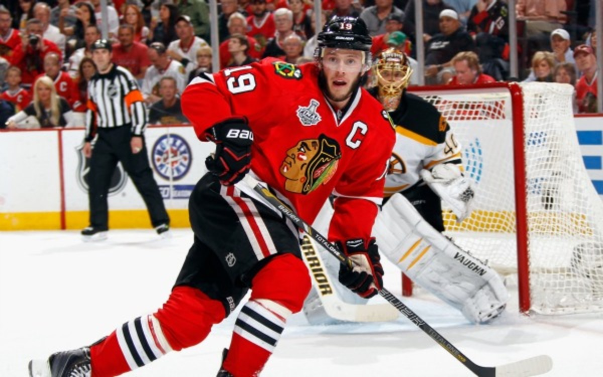 Blackhawks captain Jonathan Toews says he will play in Game 6. Dave Sandford/NHL/Getty Images)