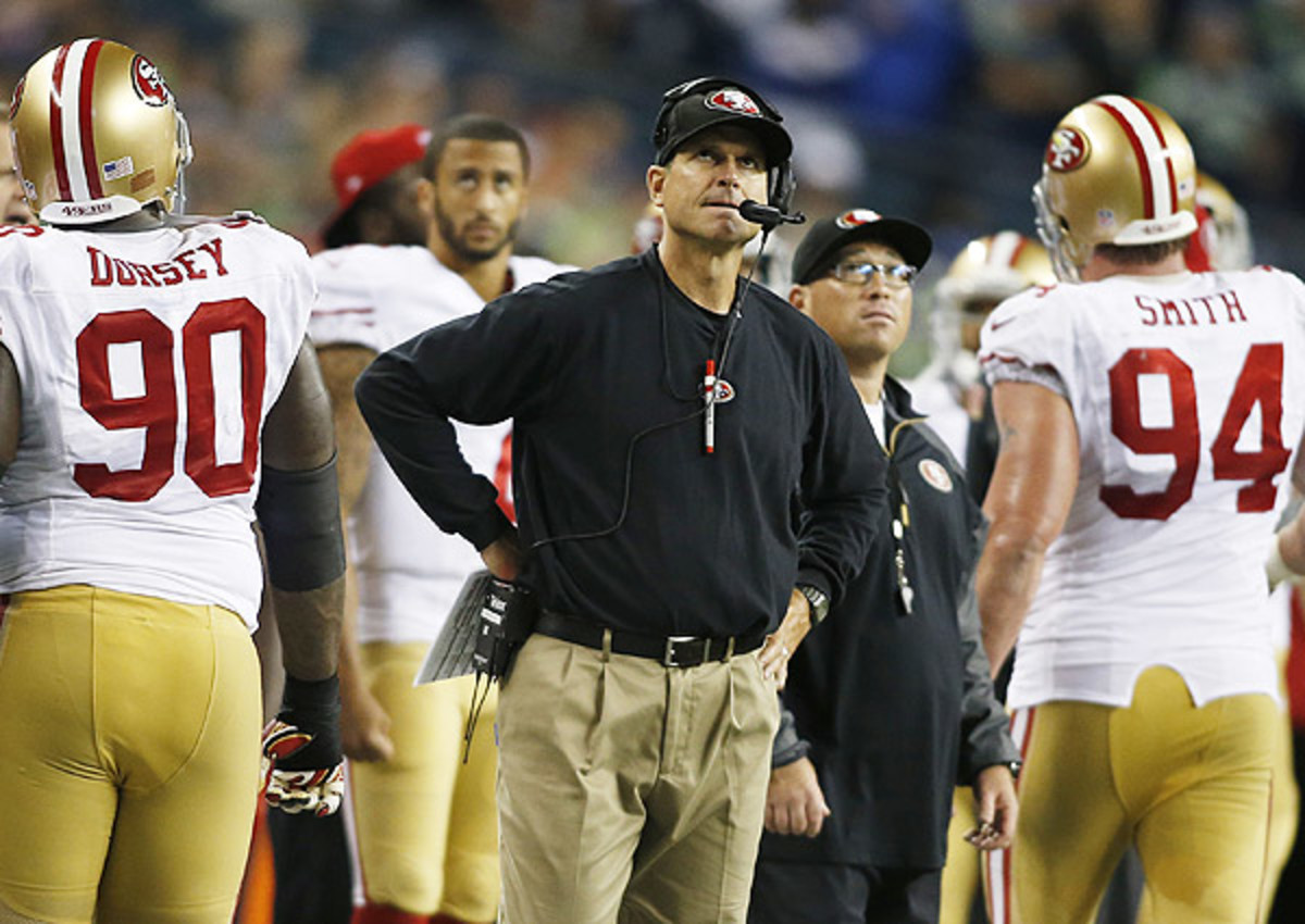 Jim Harbaugh nearly traded from San Francisco 49ers to Cleveland Browns?