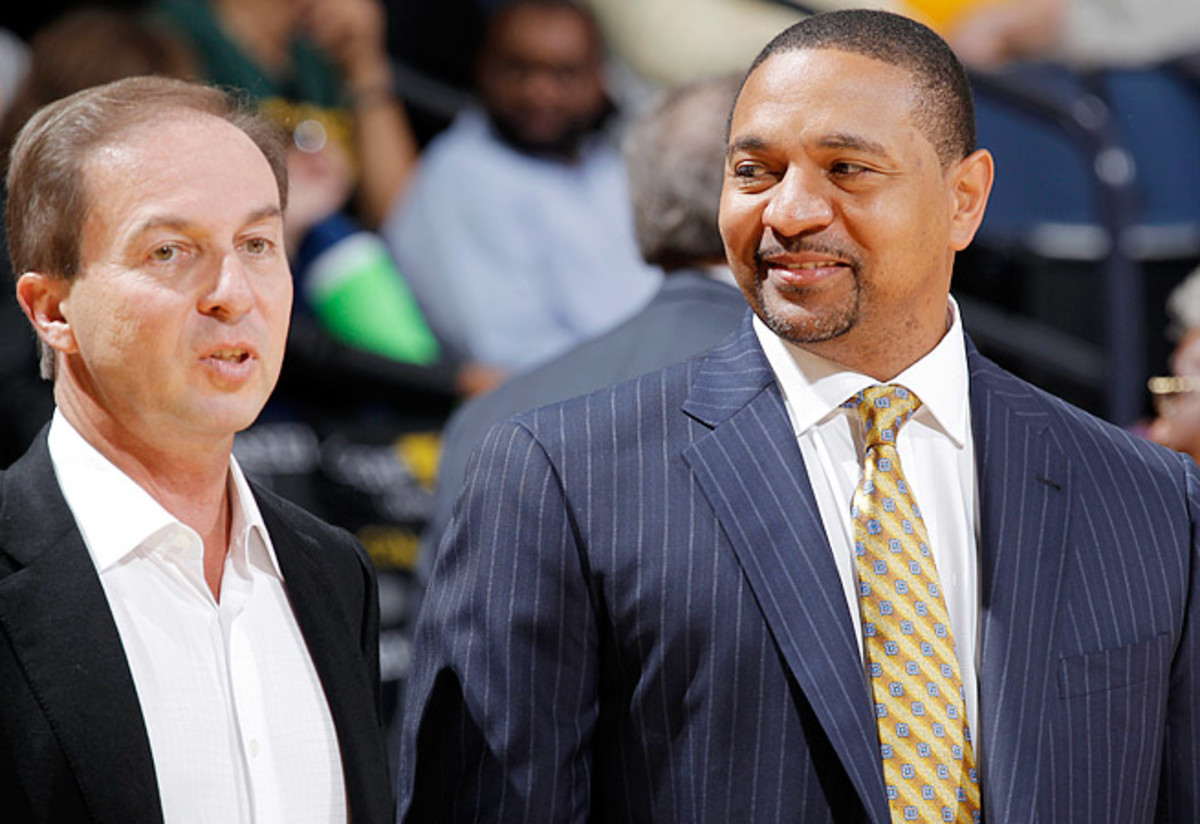 Warriors owner Joe Lacob (left) fired Mark Jackson despite back-to-back postseason appearances.
