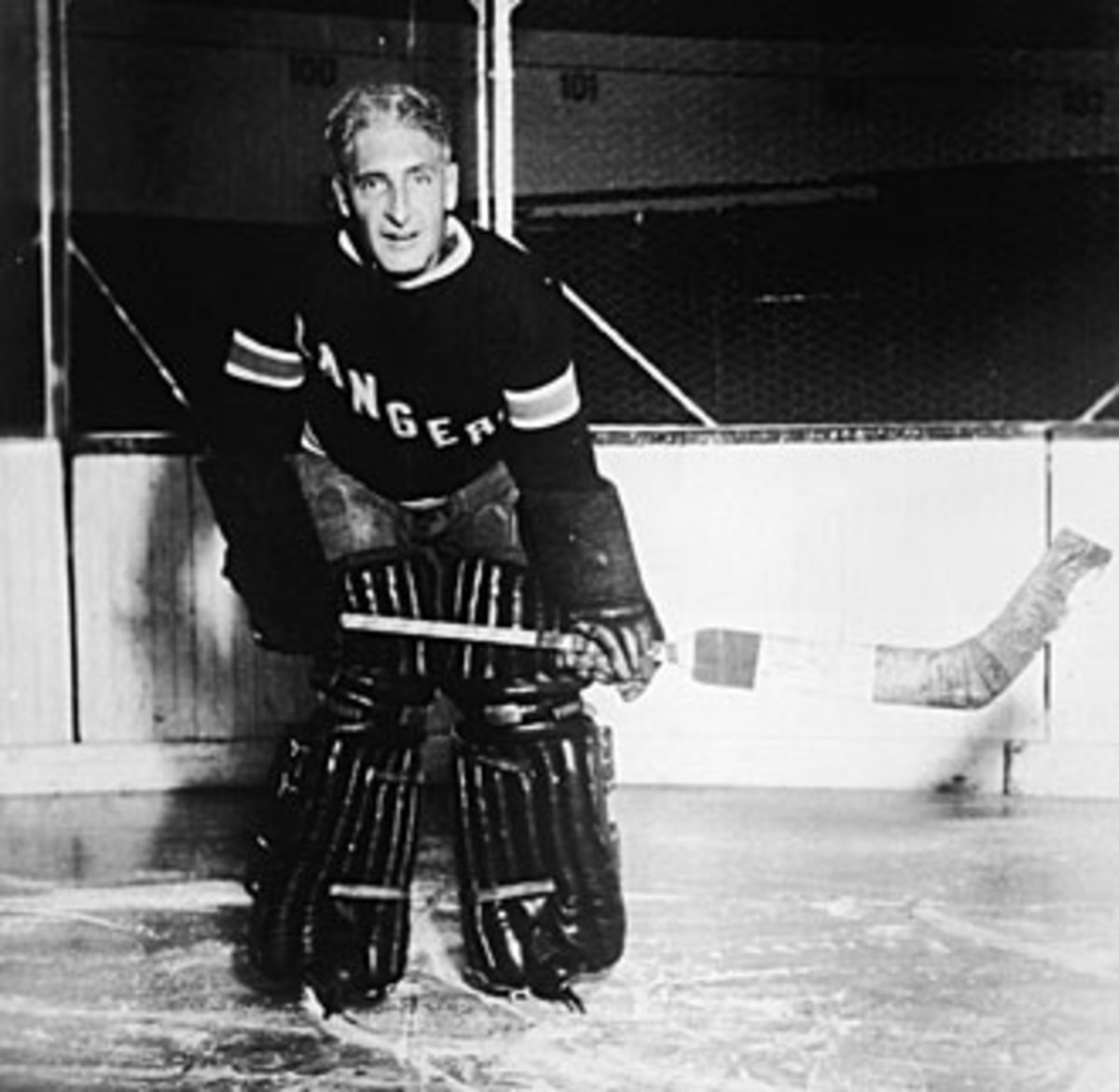 Lester Patrick is likely the NHL's most famous emergency goalie of all time.