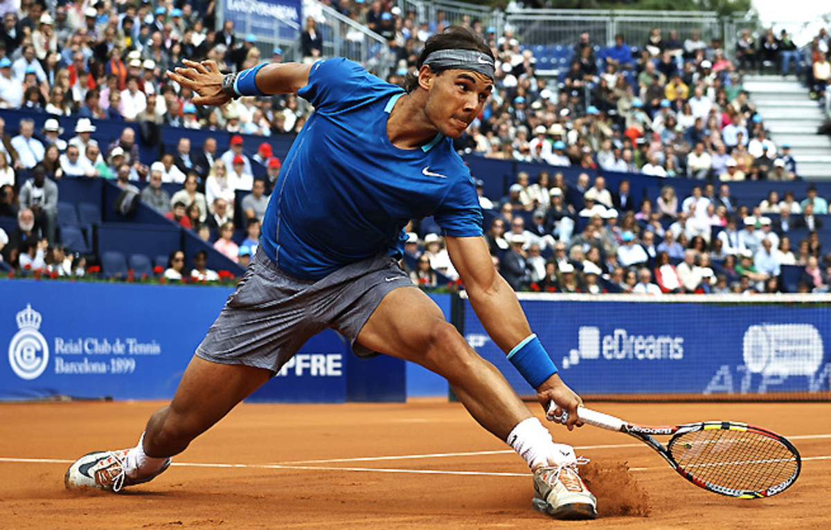 Rafael Nadal lost in the quarterfinals in Monte Carlo and Barcelona -- events he's previously dominated.