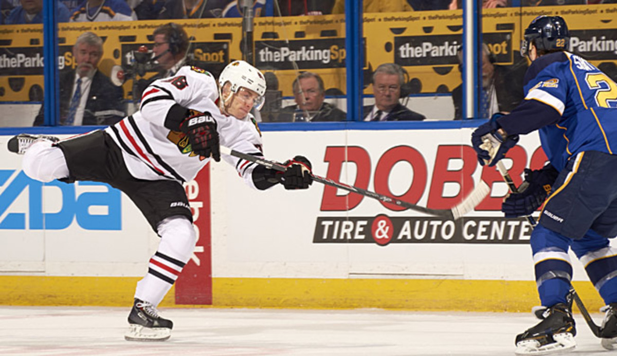 After returning from a long injury layoff, Patrick Kane is playing like Patrick Kane again.