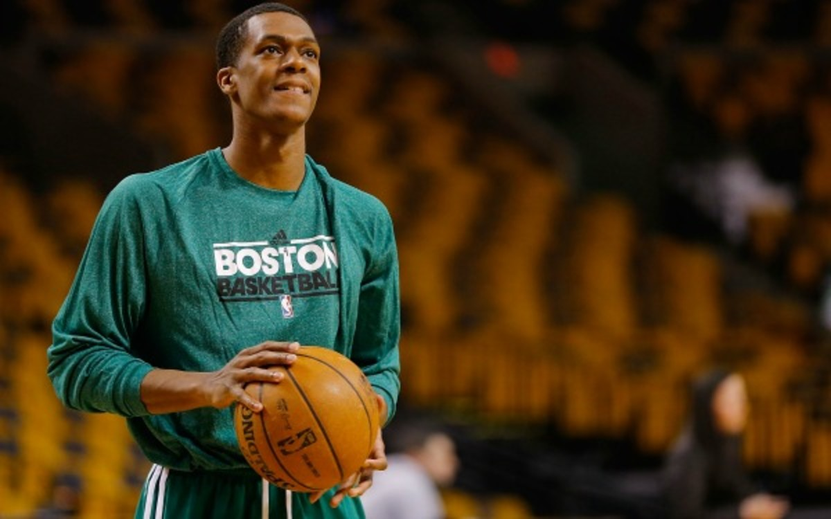 Rajon Rondo declared that he would never play for the Miami Heat. (Jared Wickerham/Getty Images)