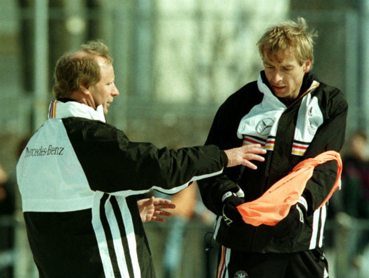 Berti Vogts, Jurgen Klinsmann