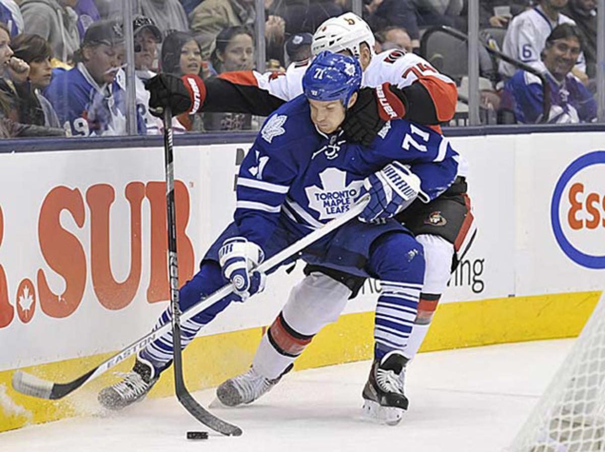 David Clarkson of the Toronto Maple Leafs