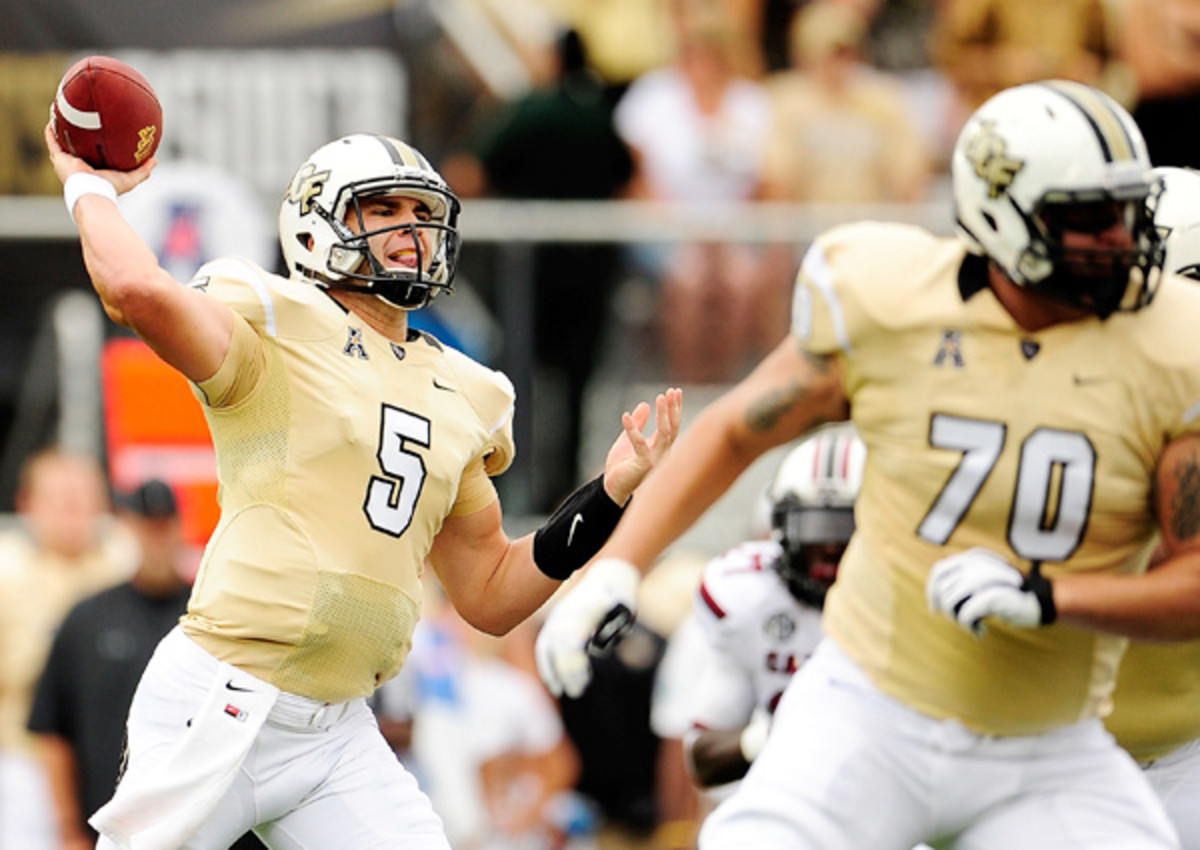 2014 NFL Mock Draft: Blake Bortles goes No. 1 to Houston Texans