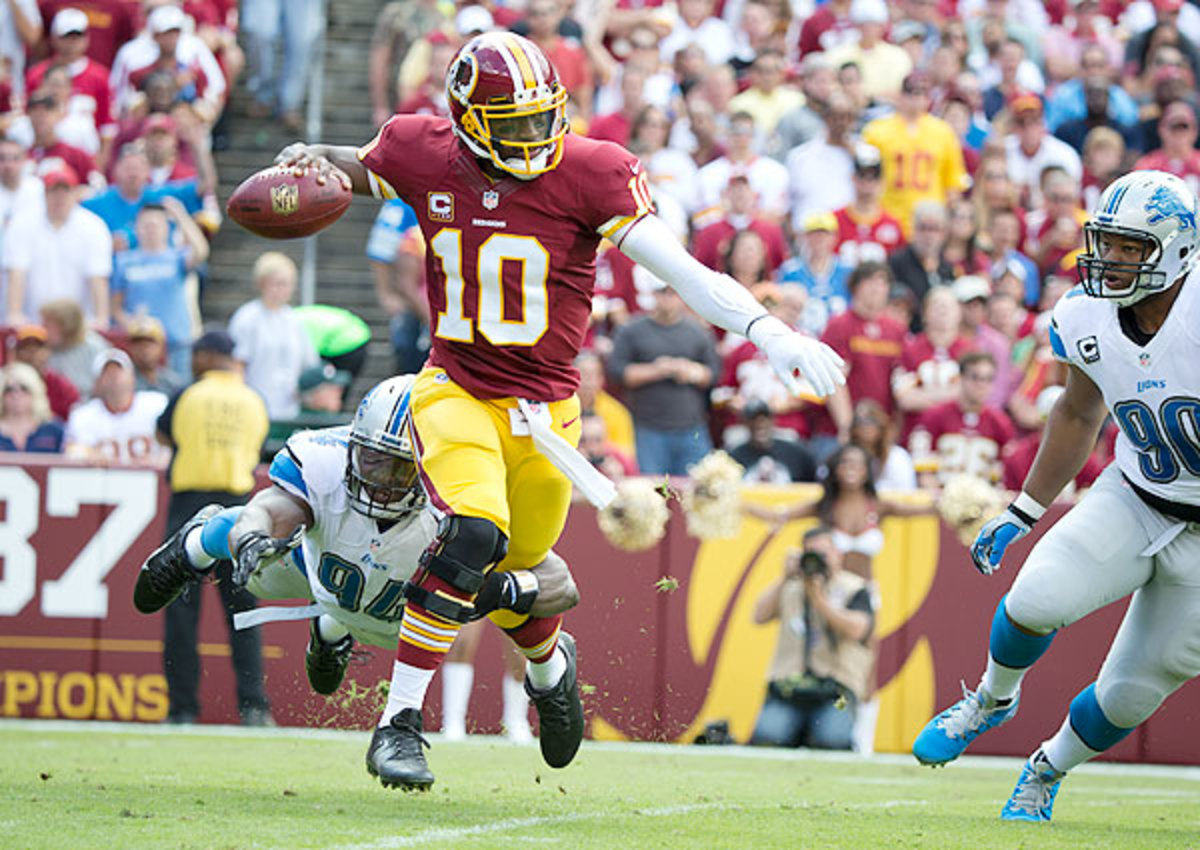Robert Griffin III  says Redskins never lost confidence in 2013
