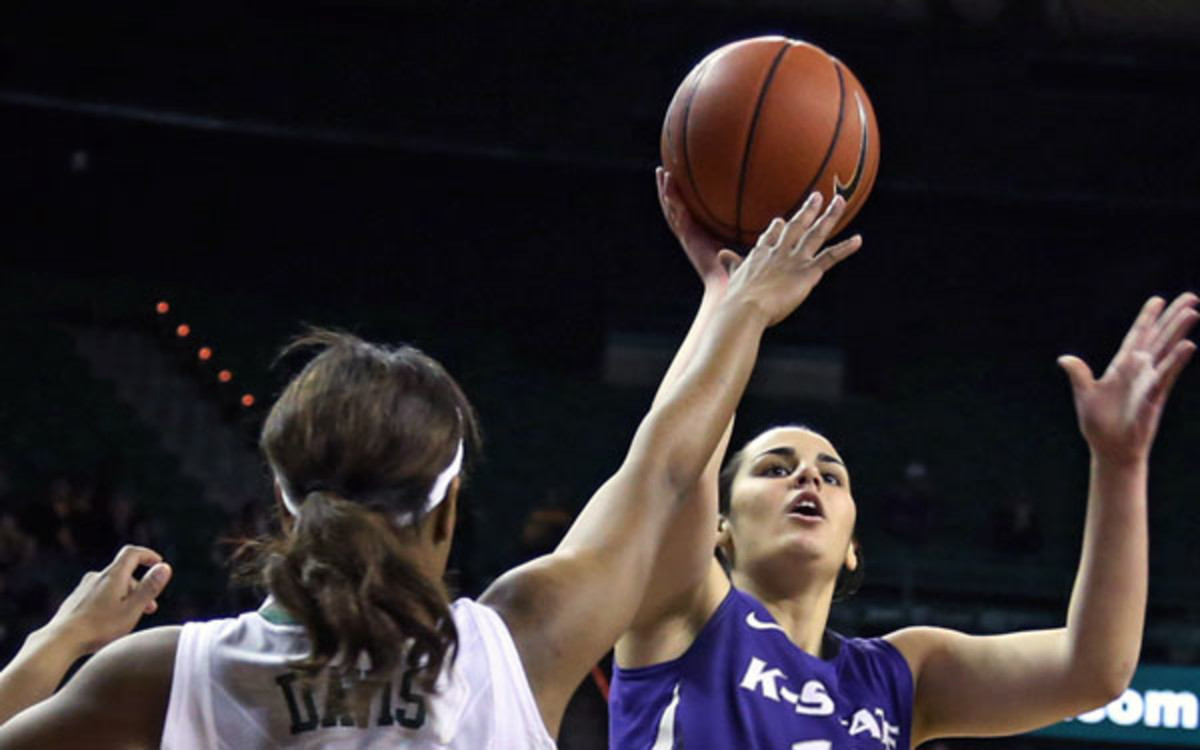 Kansas State guard Leticia Romero led the team in scoring last season. (AP Photo/Waco Tribune Herald, Rod Aydelotte)