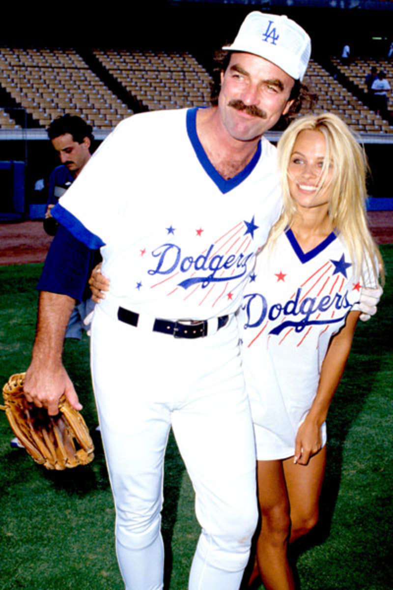Tom Selleck and Pam Anderson :: Steve Granitz/Wireimage