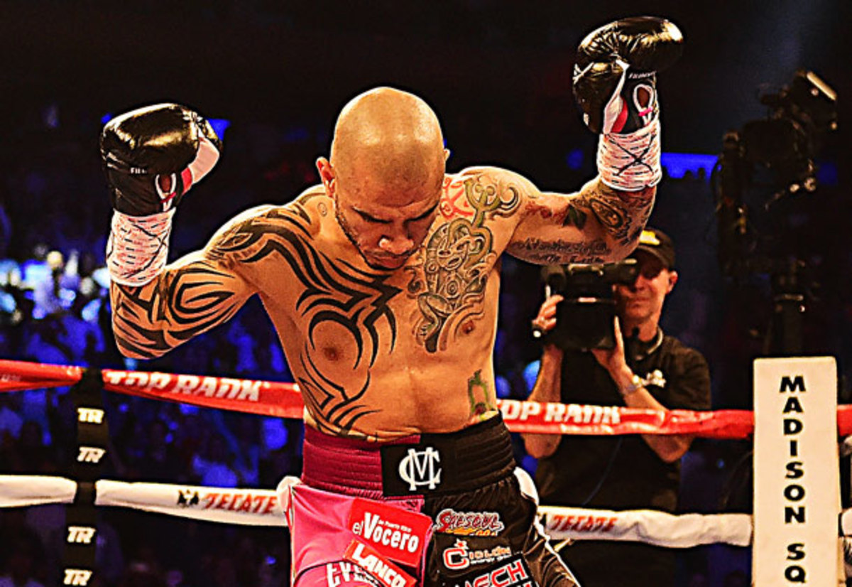 Migel Cotto dominated Saturday night from start to finish against Sergio Martinez.