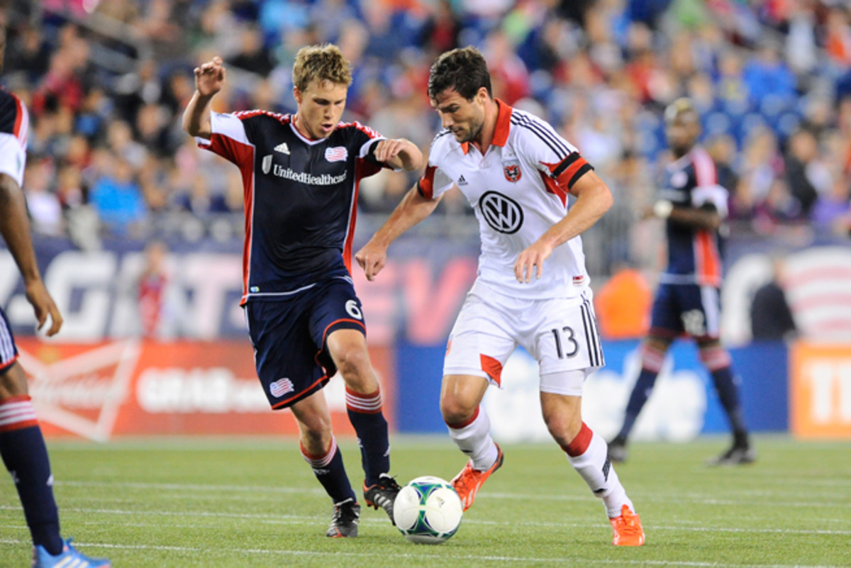 D.C. United attacker Chris Pontius (13) is slated for another long spell on the sidelines after having hamstring surgery.
