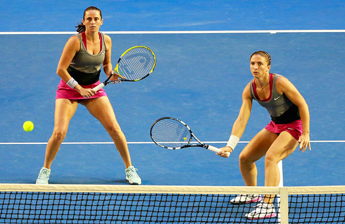 Australian Open doubles champions Roberta Vinci and Sara Errani are among the Italian players resting.