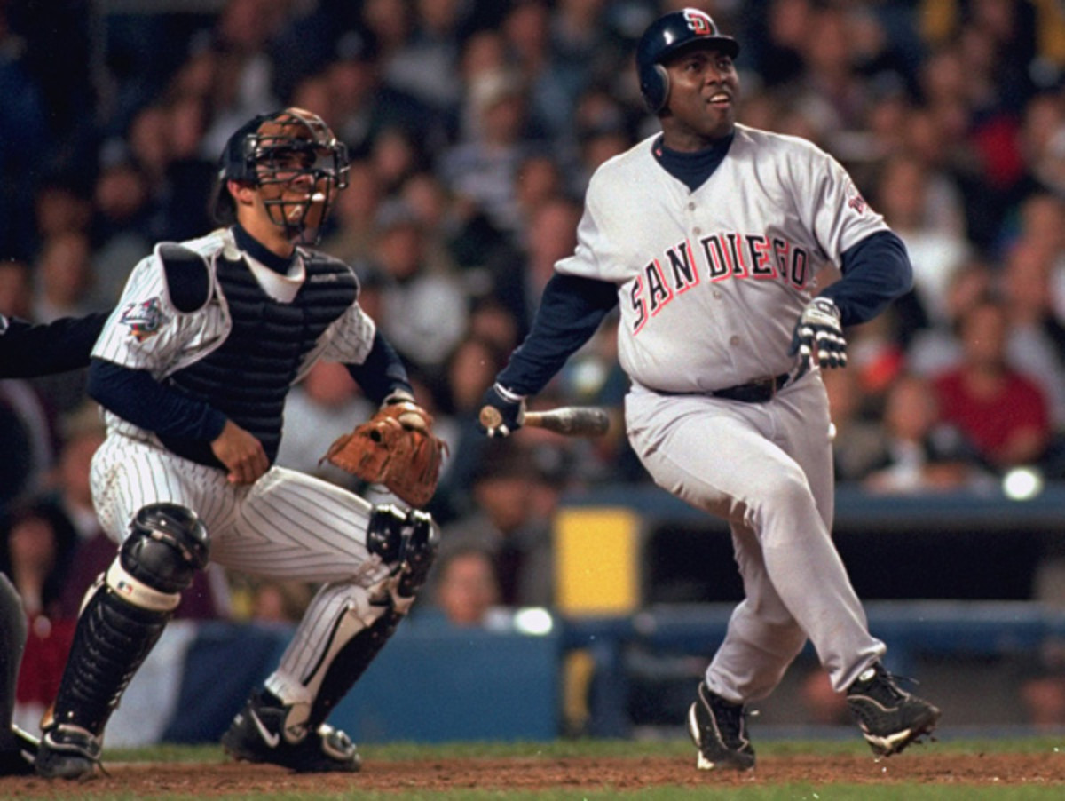 Tony Gwynn reached two World Series with the Padres, in 1984 and 1998. (Walter Iooss Jr./SI)