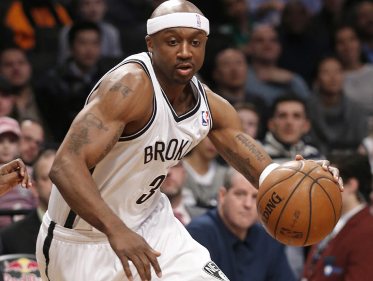 Jason Terry was acquired from Brooklyn in exchange for Marcus Thornton at the trading deadline.