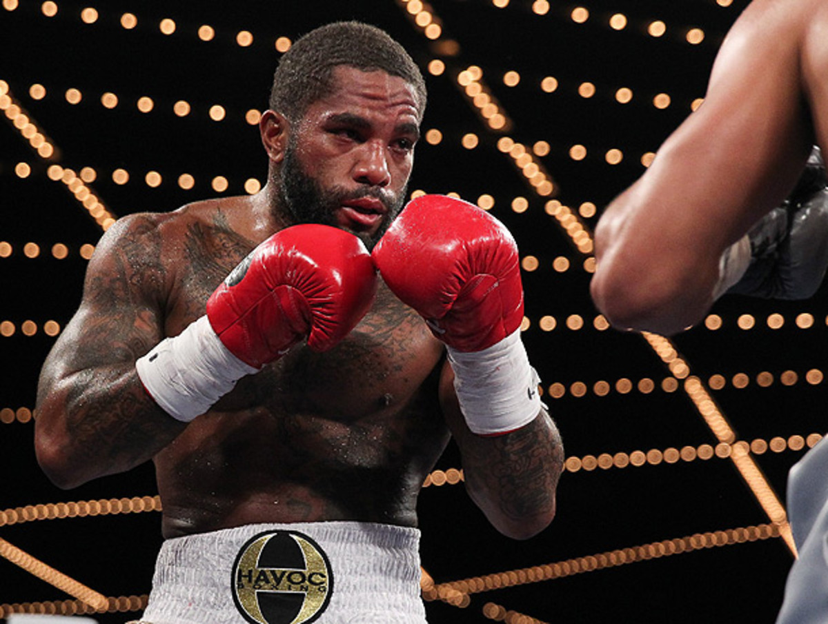 Curtis Stevens was eager to get back into the ring even after falling to Gennady Golovkin in November. (Rich Graessle/Icon SMI)