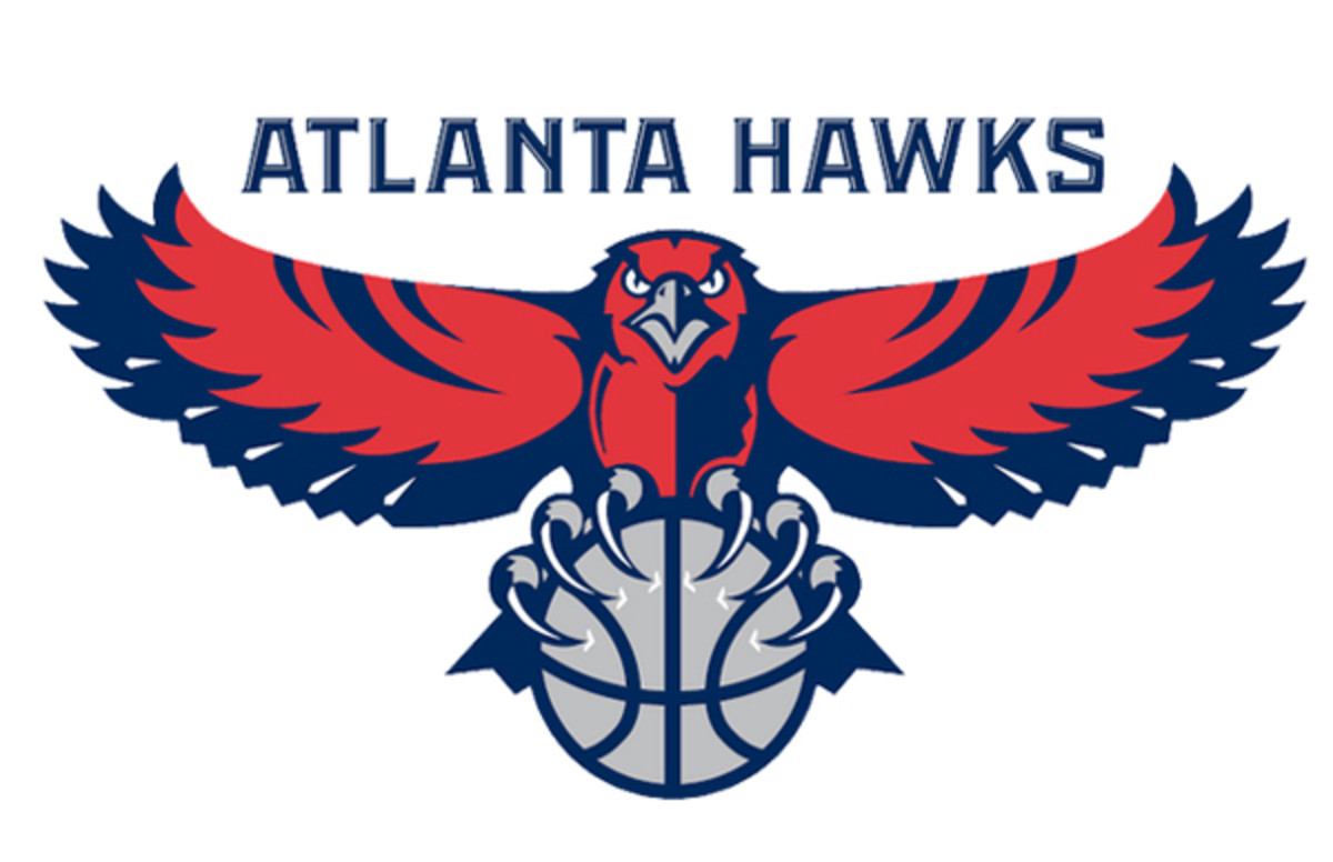 The Hawks' current primary logo. (SportsLogos.Net)