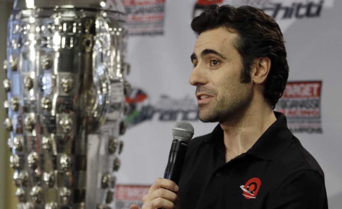 Dario Franchitti was forced to retire from racing after a crash ended his IndyCar career on October of 2013.