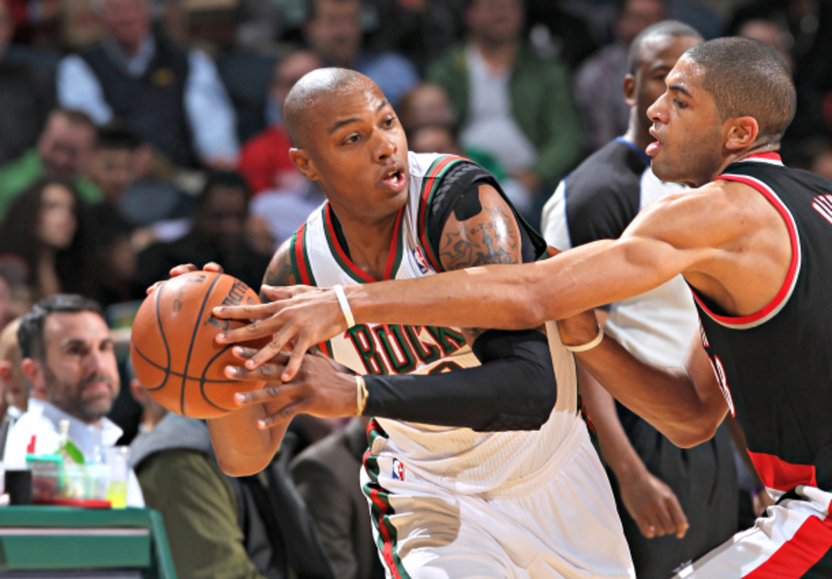 Caron Butler was overwhelmed as a primary piece for the Bucks, but could fill a role for a contender. (Gary Dineen/NBAE via Getty Images)
