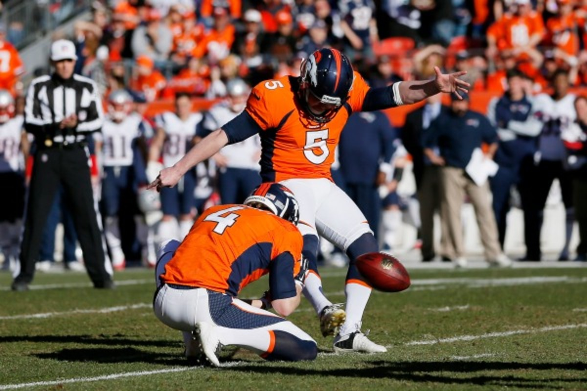 Denver's Matt Prater made a league-high 75 extra points last season. (Kevin C. Cox/Getty Images)