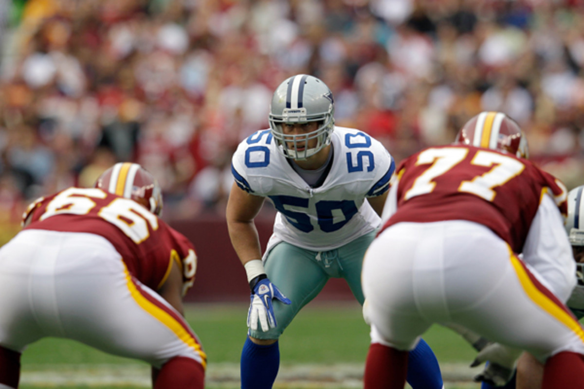 The Cowboys are taking a calculated risk on a special player in linebacker Sean Lee. (Rob Carr/Getty Images)