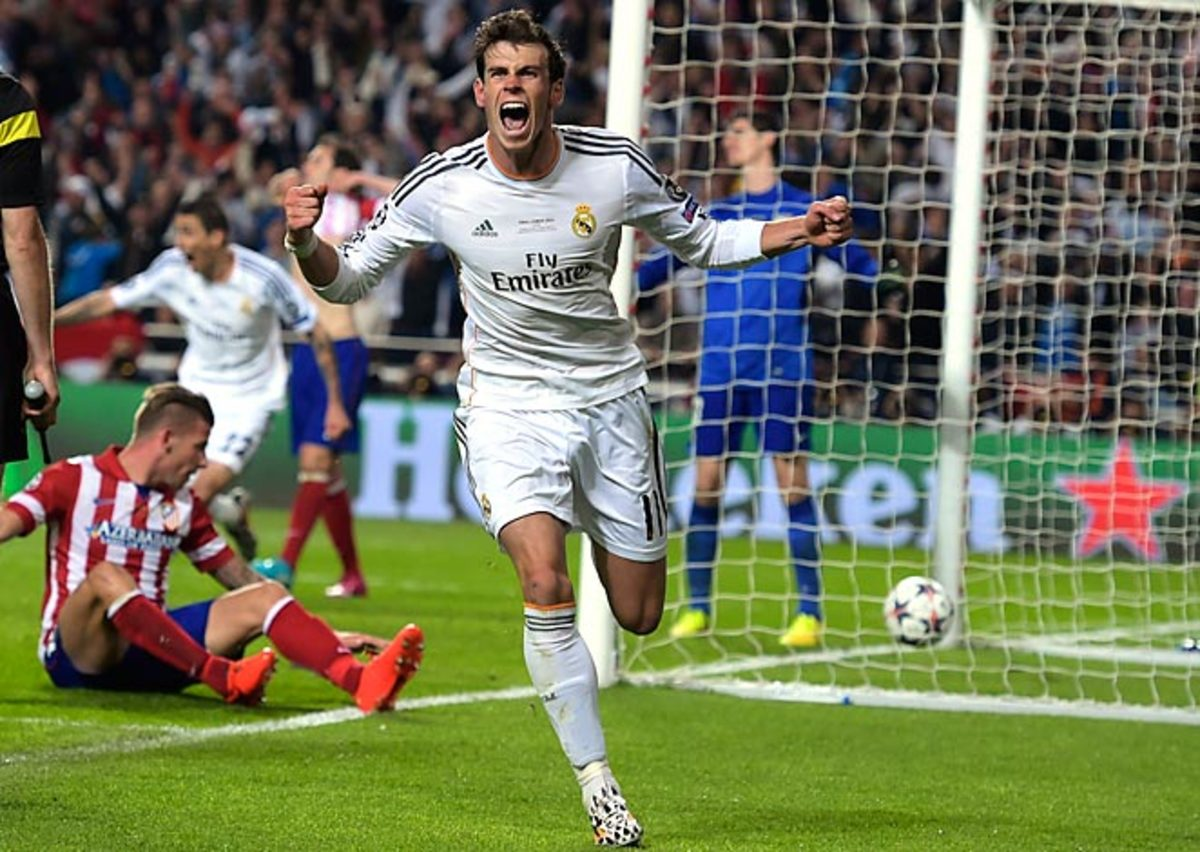 Gareth Bale's extra time goal won the game from Real Madrid and made him the first Welshman to score in a Europan championship final.