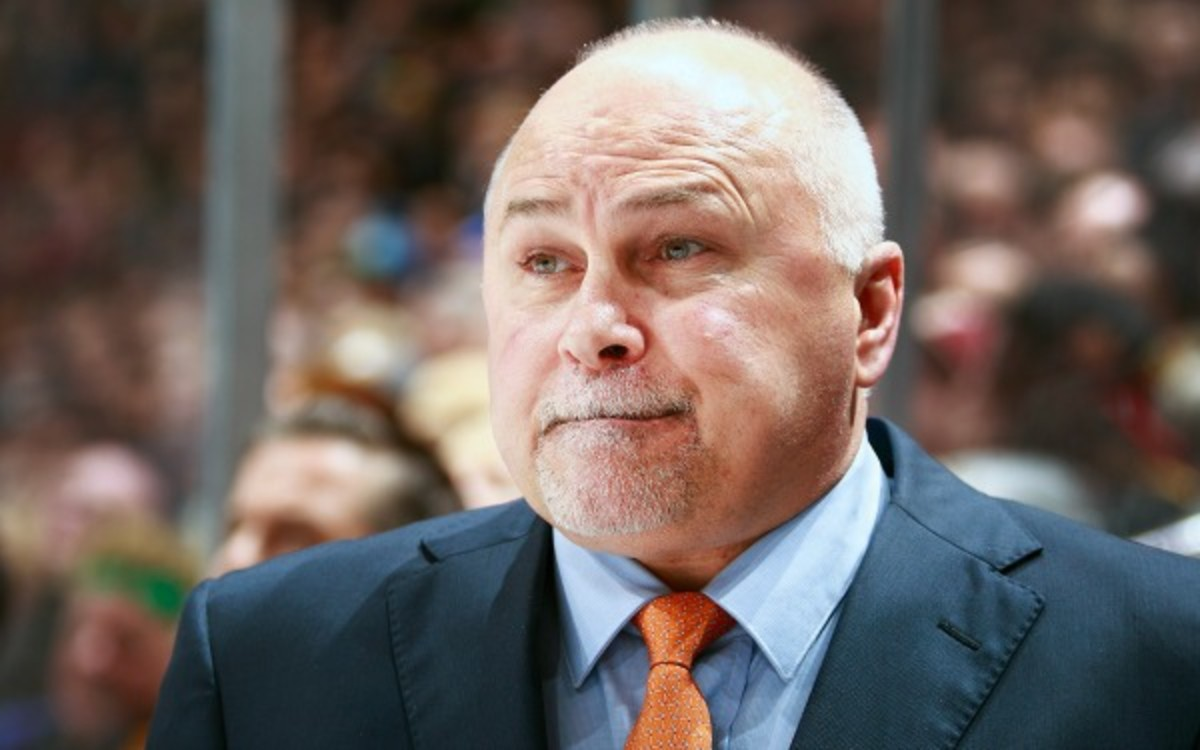 Barry Trotz will likely be the Capitals' next head coach. (Jeff Vinnick/Getty Images)