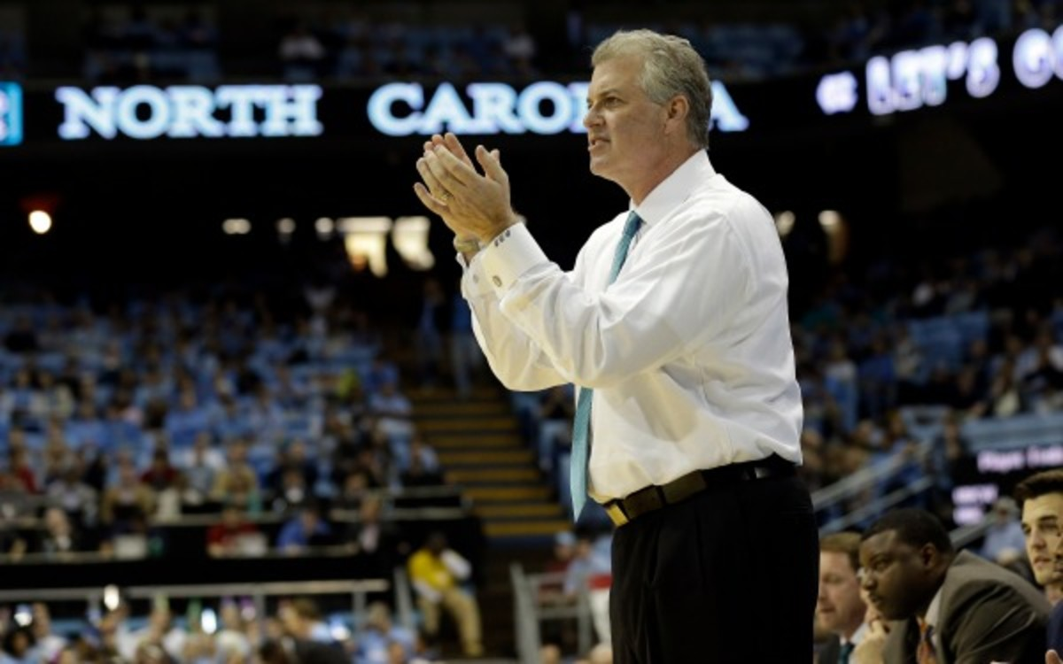 Buzz Peterson has a 267-229 record in 16 years as a college head coach. (AP Photo/Gerry Broome)