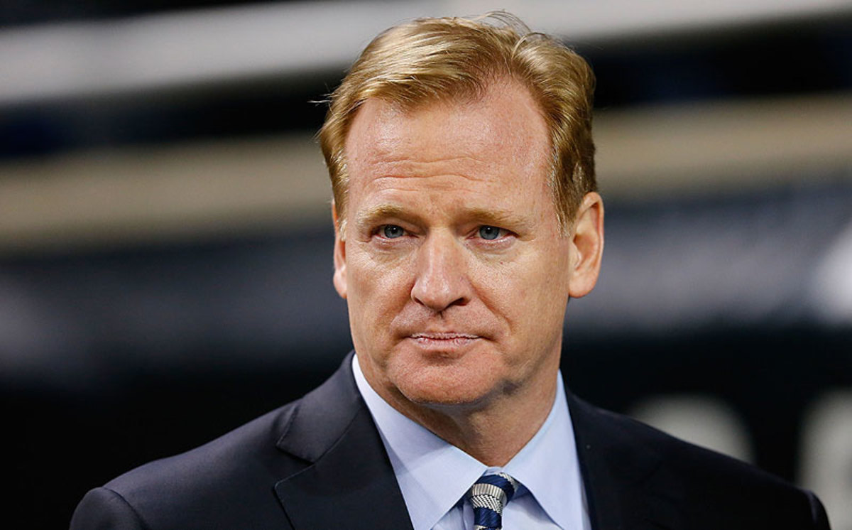 Roger Goodell (Leon Halip/Getty Images)