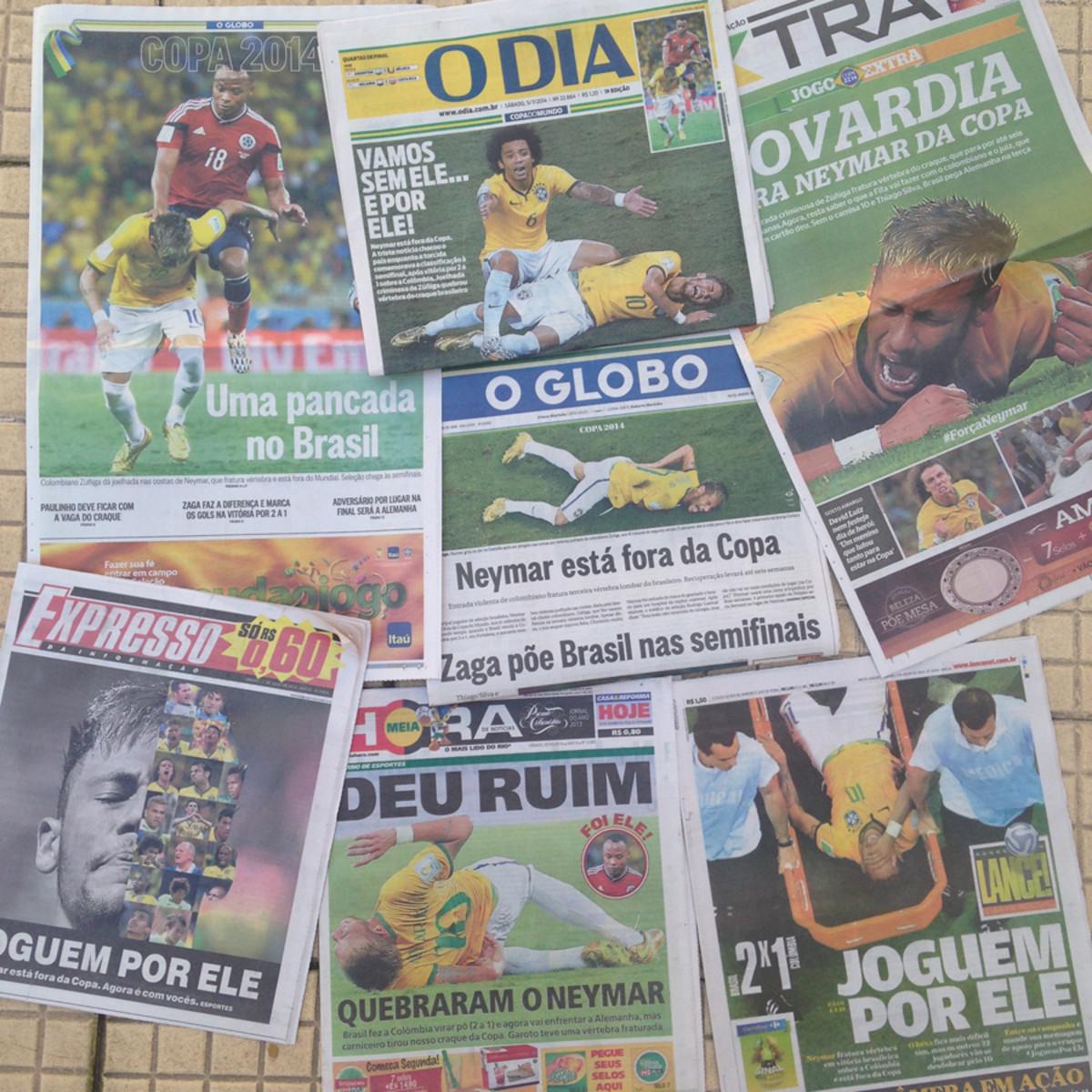 Neymar-Newspapers-All