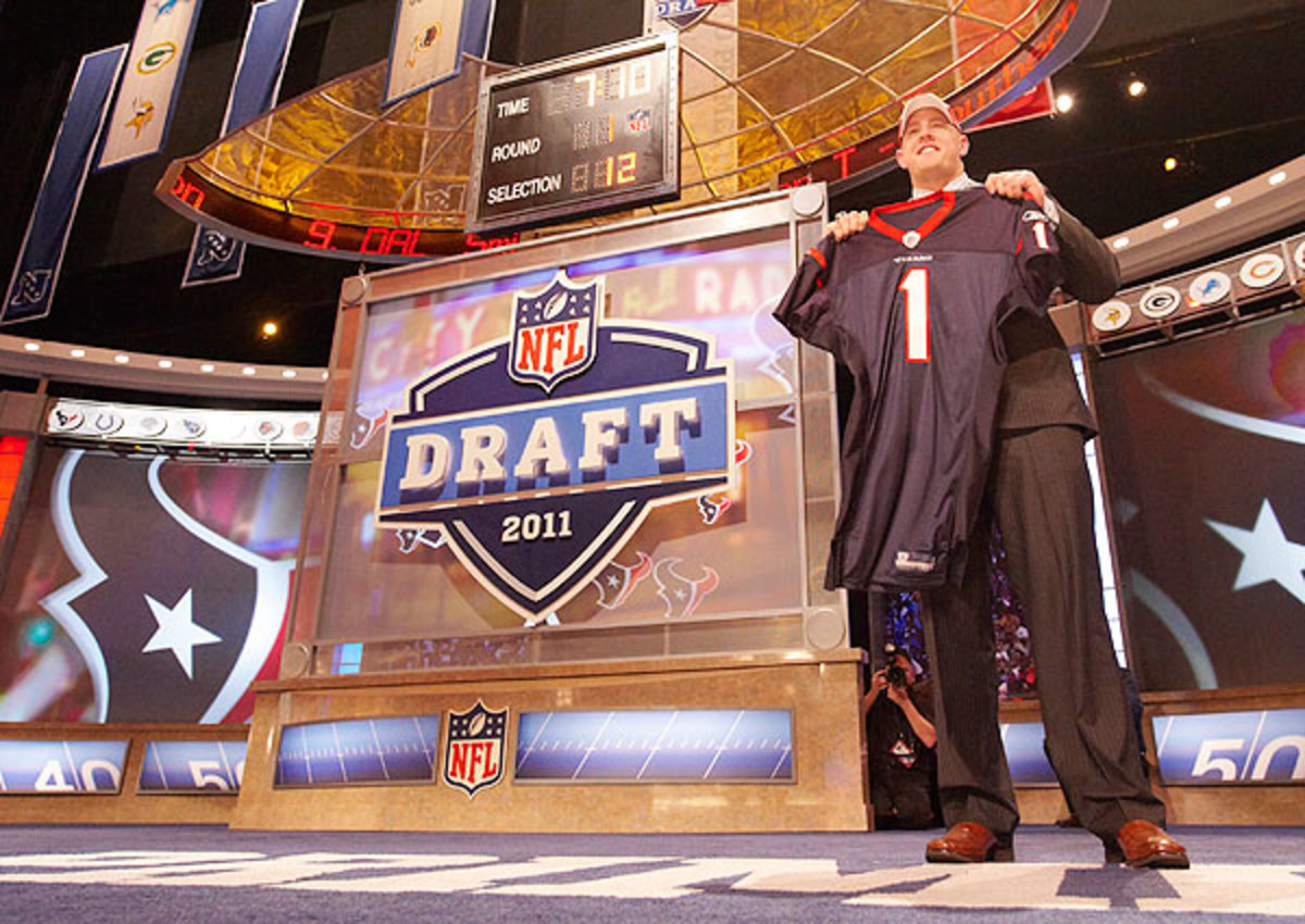 Houston Texans No. 1 pick 2014 NFL draft: Texans are likely to go QB or OT at No. 1 overall.