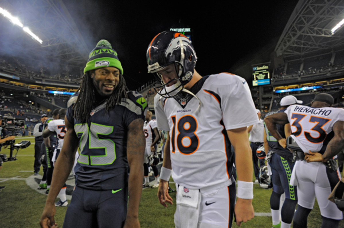 The battle between Richard Sherman and Peyton Manning could be the deciding one in Super Bowl XLVIII.