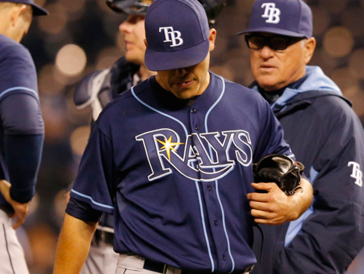 Matt Moore's elbow injury could sideline him for the entire 2014 season. (Orlin Wagner/AP)