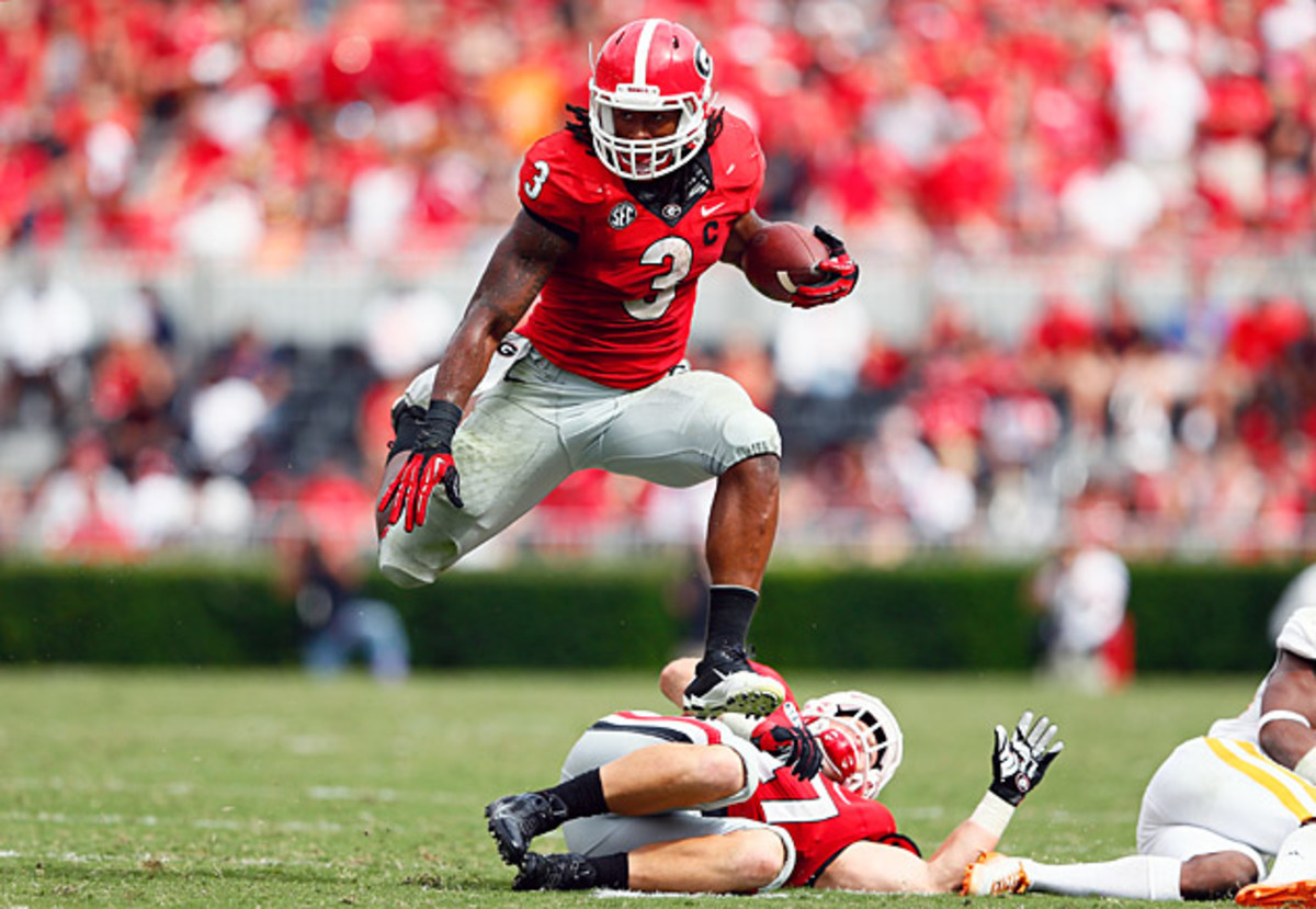 todd gurley leaping