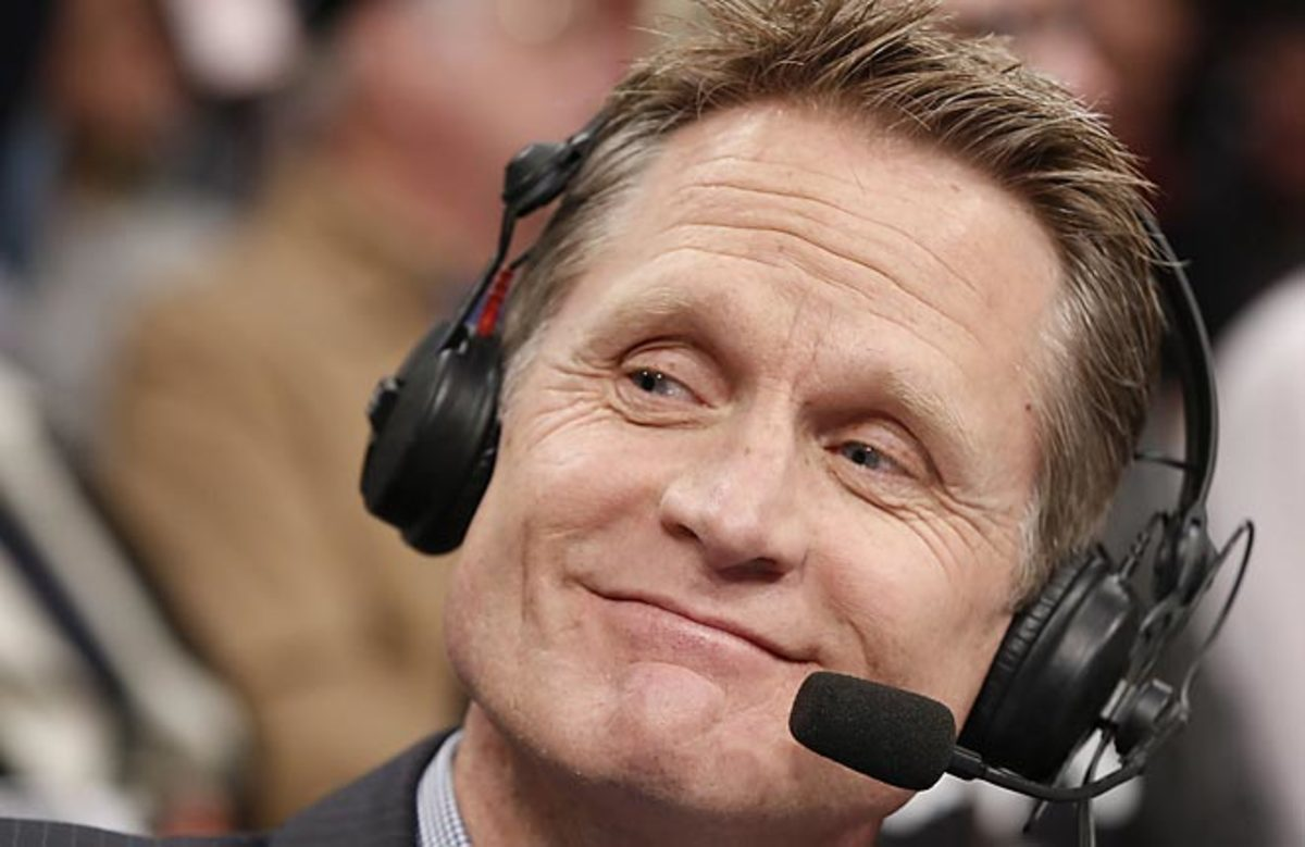Steve Kerr has all but accepted the Knicks coaching job, but he may find a Lakers offer more enticing.