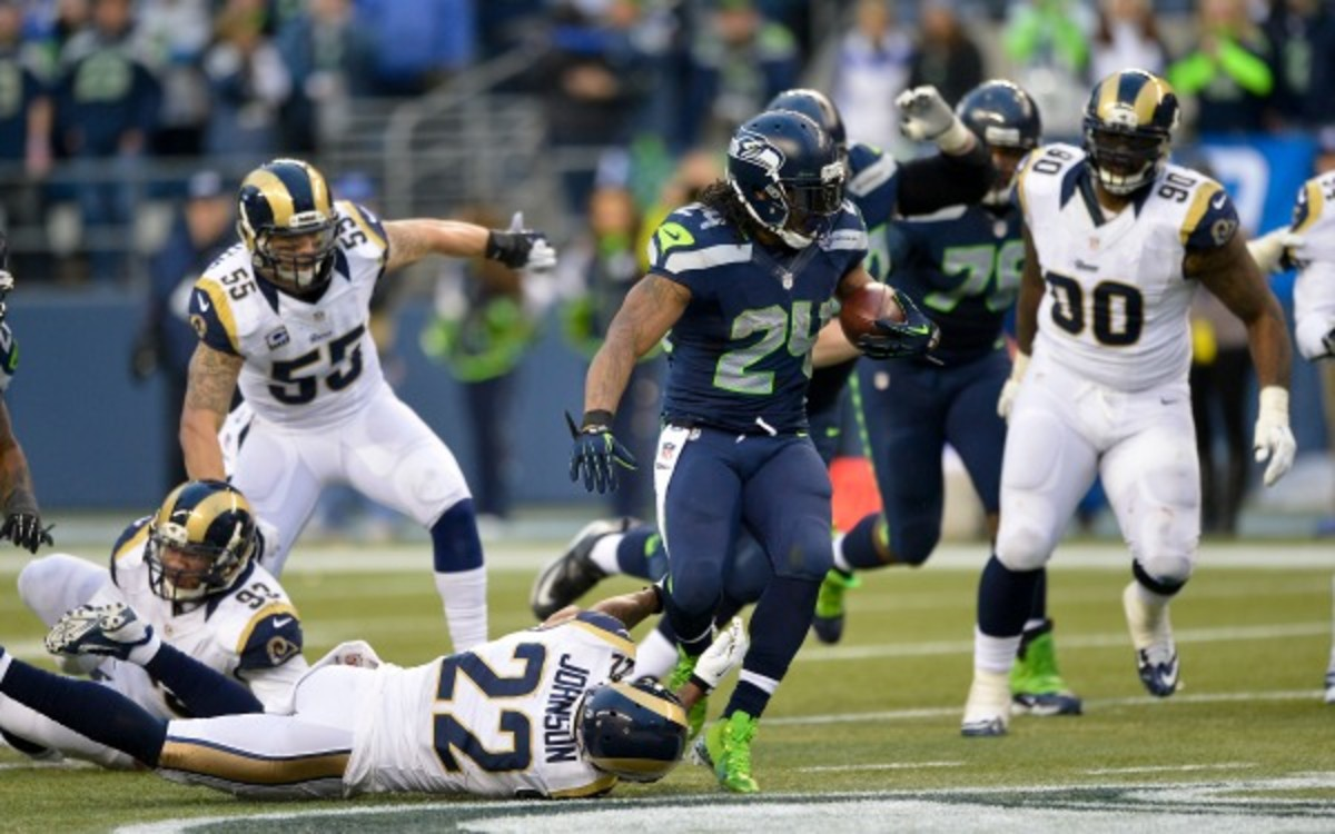The Rams and the Seahawks are among the first teams to receive a bye in Week 4.  (AP Photo/G. Newman Lowrance)