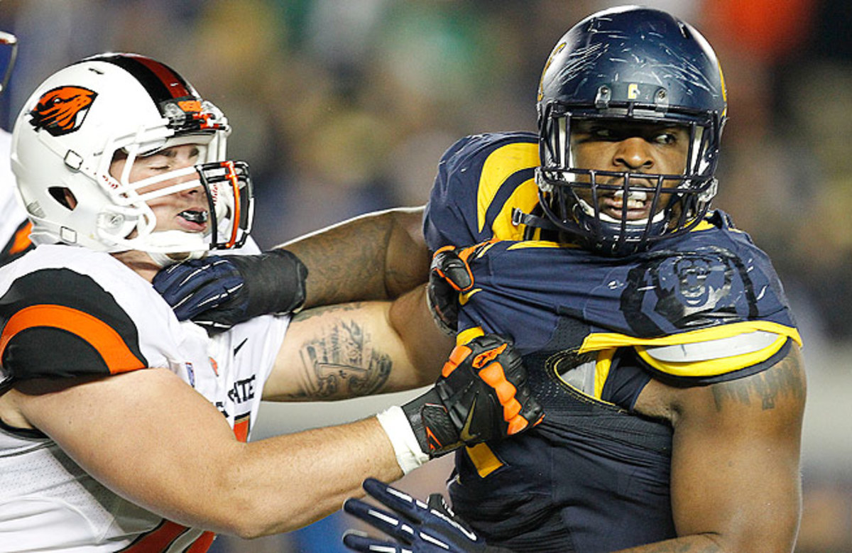 The depth at defensive tackle could drop the talented DeAndre Coleman (right) to Day 3 or beyond.