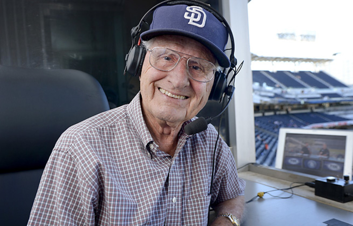 Jerry Coleman was a Padres broadcaster for four decades after winning four World Series titles.