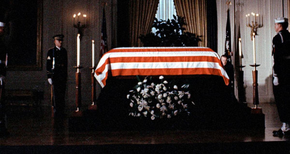 JFK coffin