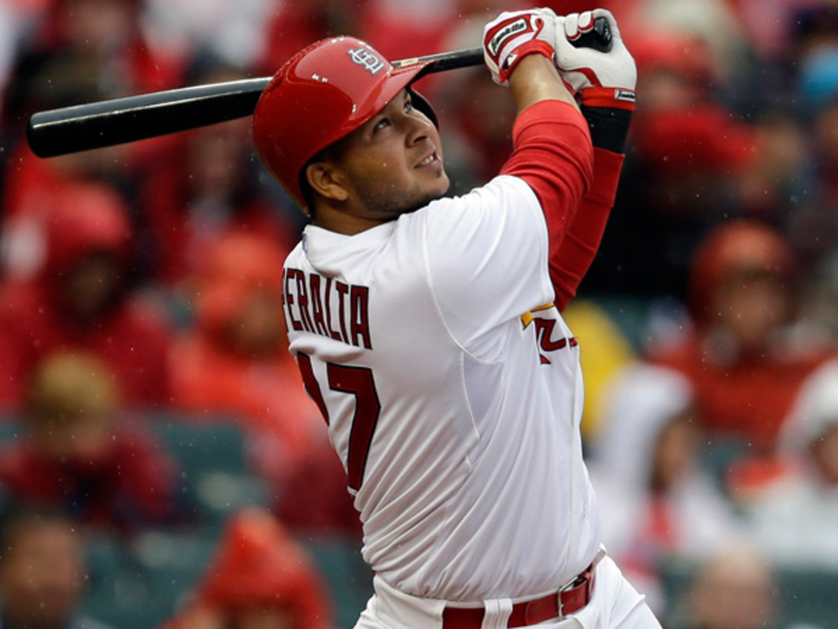 Jhonny Peralta's 50-game Biogenesis suspension didn't prevent him from getting a big free agent deal. (Jeff Roberson/AP)